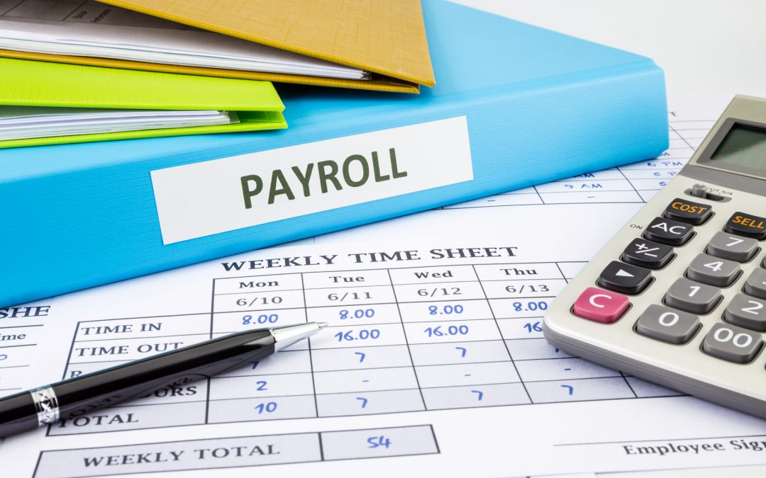 Calculating payroll for an employee; payroll services